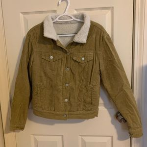 Brandy Melville Corduroy Jacket